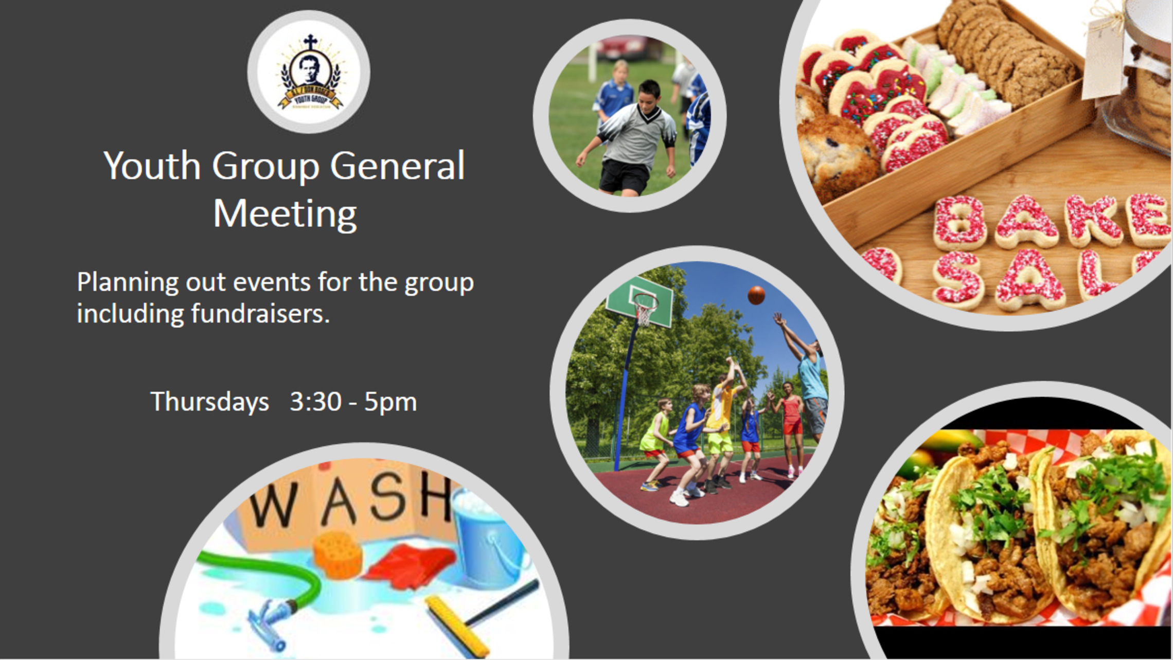 Youth Group General Mtgs